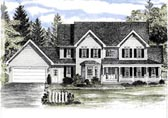 Plan Number 94145 - 2721 Square Feet