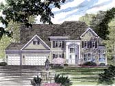 Plan Number 94166 - 3121 Square Feet