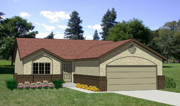 Country House Plan 94302 Elevation