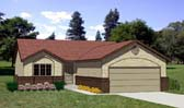 Plan Number 94302 - 1137 Square Feet
