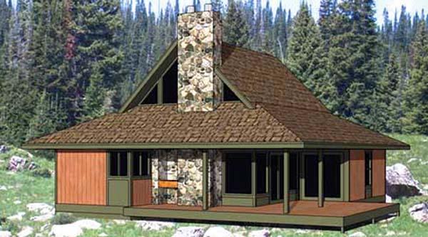 Cape Cod House Plan 94309 Elevation