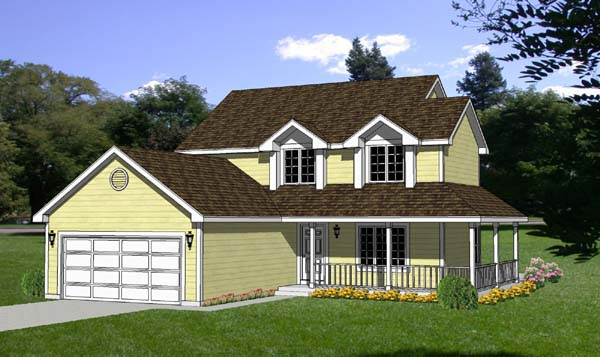 Country House Plan 94313 Elevation