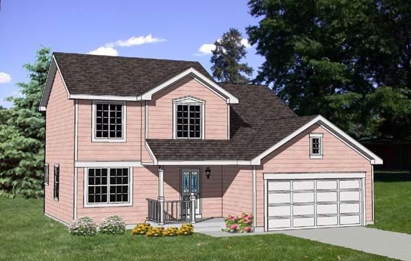 Country House Plan 94315 Elevation
