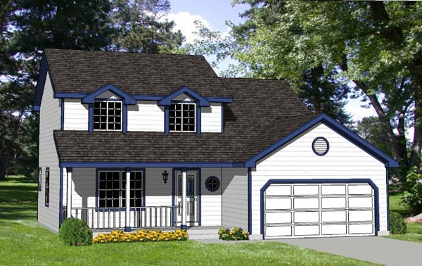 Country House Plan 94316 Elevation