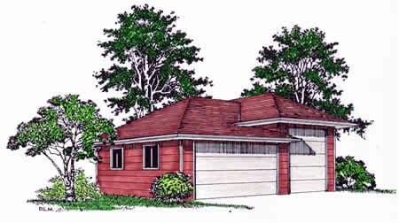 Garage Plan 94339