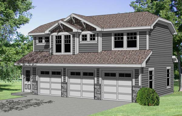 Garage Plan 94341 Elevation