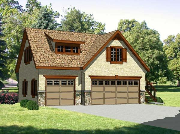Garage Plan 94342 At