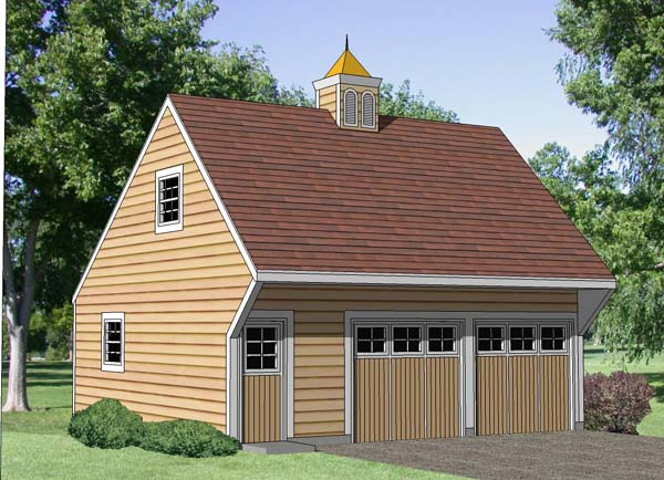 Garage Plan 94349 Elevation