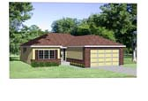 Plan Number 94351 - 1162 Square Feet