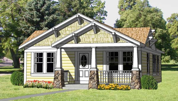 House plan 94371 at for Family homeplans com