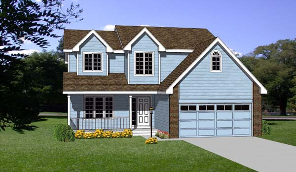 Country House Plan 94391 Elevation