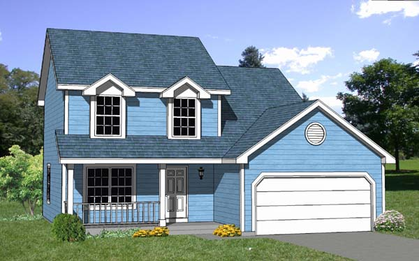 Country House Plan 94416 Elevation