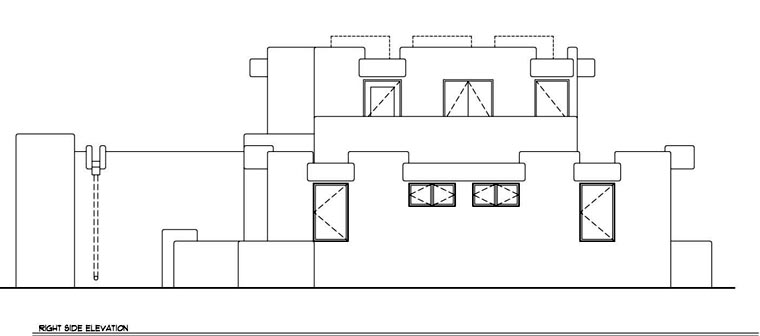 Santa Fe, Southwest House Plan 94423 with 3 Beds, 3 Baths, 2 Car Garage Picture 2