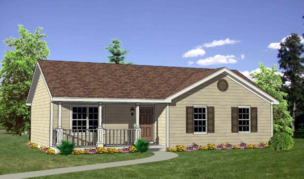 House Plan 94436 At Familyhomeplans Com