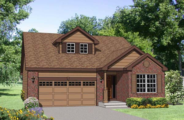 Ranch House Plan 94450 Elevation