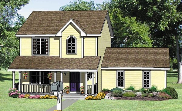 Country House Plan 94452 Elevation
