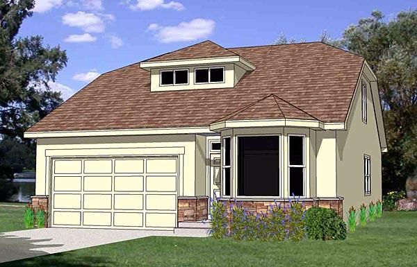 Southwest House Plan 94460 Elevation
