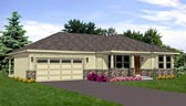 Plan Number 94470 - 1596 Square Feet