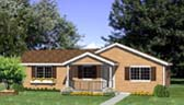 Plan Number 94494 - 1232 Square Feet