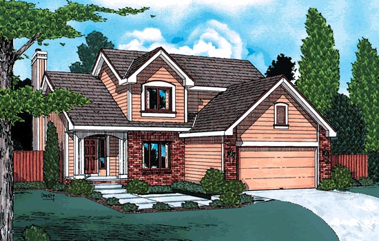 Country House Plan 94912 Elevation