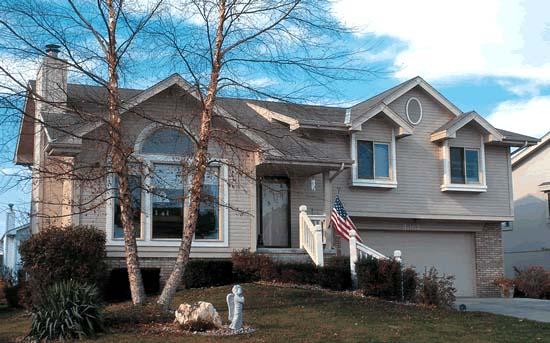 Split-Level House Plan 94929