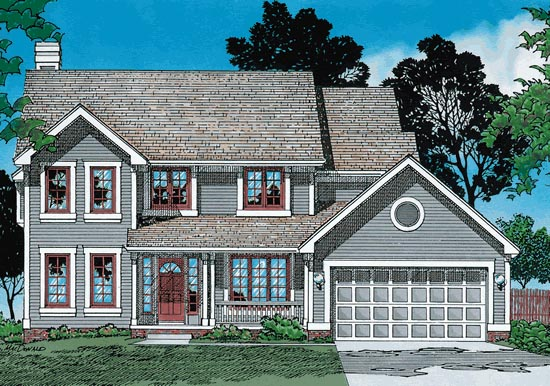 Country House Plan 94942 Elevation