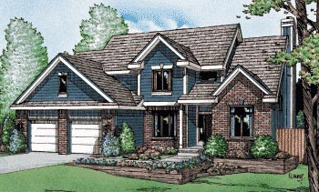 Country House Plan 94963 Elevation
