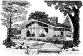 Plan Number 95009 - 864 Square Feet
