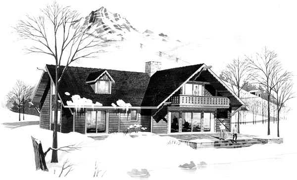 Contemporary House Plan 95011 Elevation