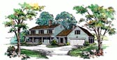 Plan Number 95022 - 2580 Square Feet