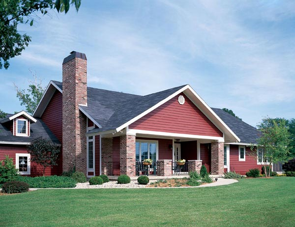 Traditional House Plan 95036 Elevation