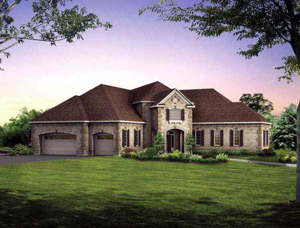 House Plan 95066 Elevation
