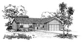 Plan Number 95085 - 1298 Square Feet