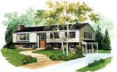 Plan Number 95104 - 2184 Square Feet