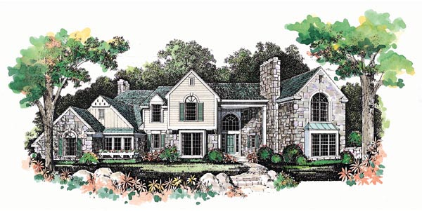 Traditional House Plan 95233 Elevation