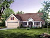 Plan Number 95247 - 1118 Square Feet