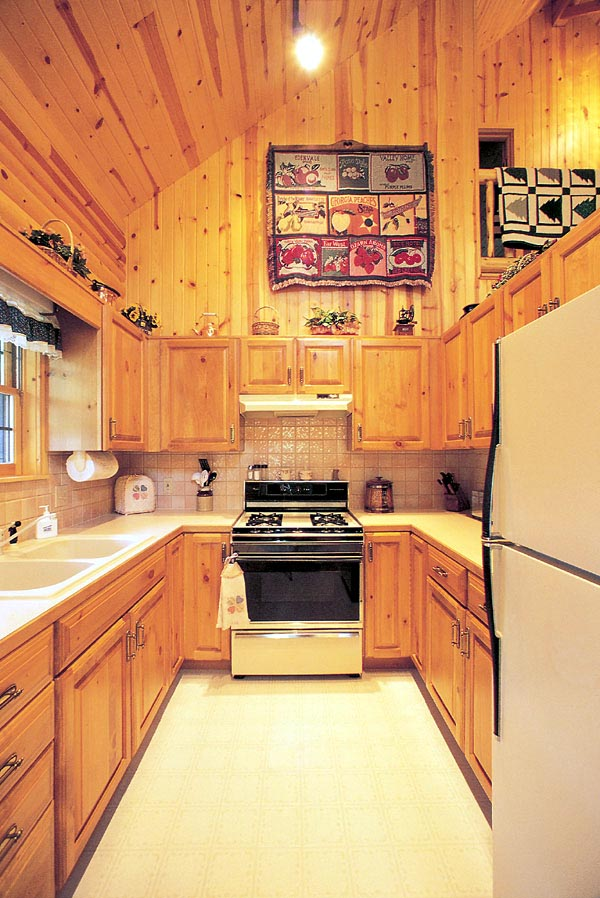 Cabin, Ranch House Plan 95255 with 2 Beds, 3 Baths Picture 3