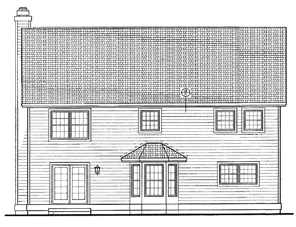 Country House Plan 95263 Rear Elevation