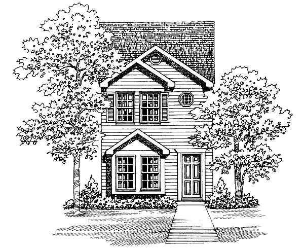 Traditional House Plan 95264 Elevation