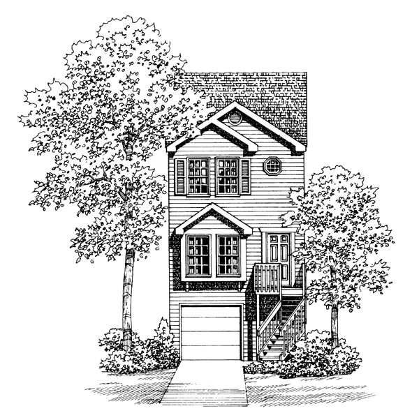 Traditional House Plan 95265 Elevation