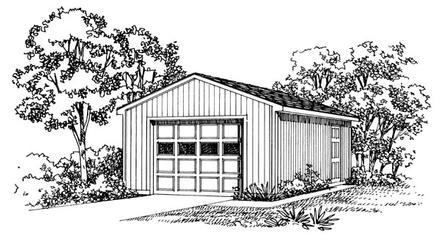 Garage Plan 95289