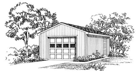 Garage Plan 95290