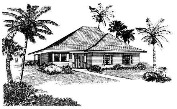 Cottage House Plan 95517 Elevation