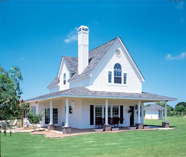 Cottage Country Craftsman Farmhouse House Plan 95541