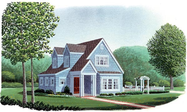 Country Craftsman House Plan 95600 Elevation