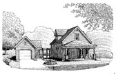 Plan Number 95642 - 985 Square Feet