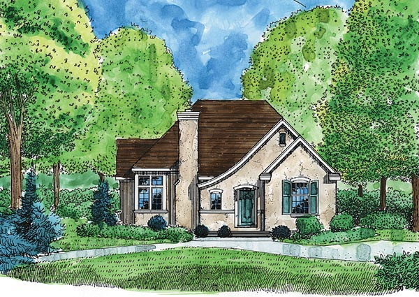 Bungalow Cottage Craftsman House Plan 95713 Elevation