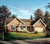 Plan Number 95802 - 1741 Square Feet