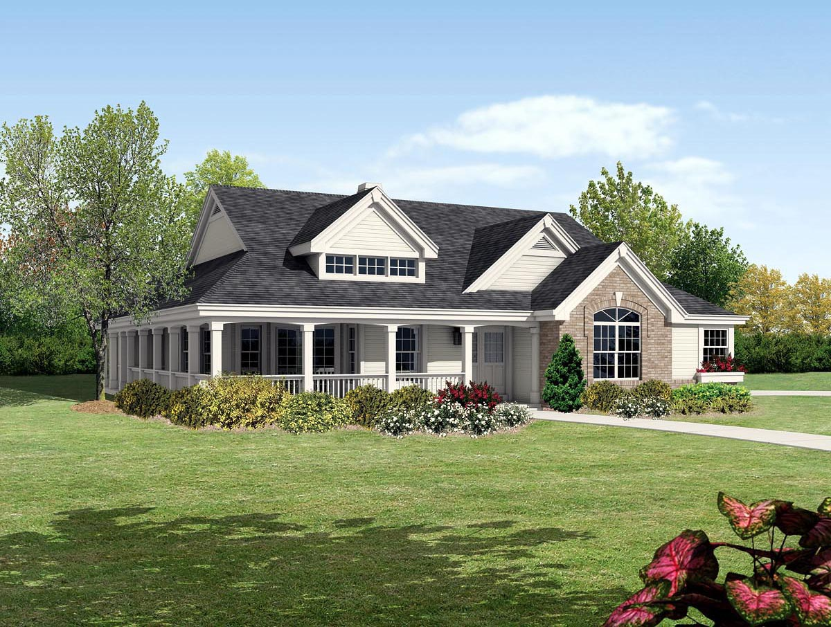 House Plan At FamilyHomePlanscom - Cottage and bungalow house plans