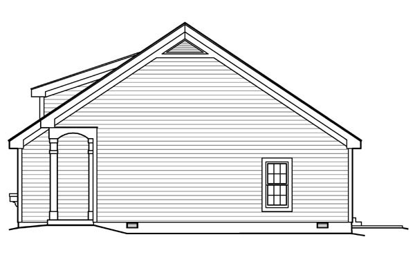 Contemporary, Traditional House Plan 95813 with 2 Beds, 1 Baths Picture 2